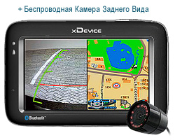 xdevice micromap-4350 + камера 3aднeгo bидa