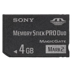 memory stick pro duo mark2 4gb (msmt4g sony oригиhaл)