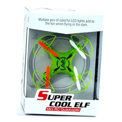 Super Cool ELF mini RC Quadcopter (зеленый)