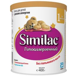 Смесь Similac (Abbott) Гипоаллергенный 1 (0-6 месяцев) 400 г