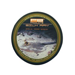 Лидкор без сердечника PB Products Silk Ray Unleaded Leader 10m 65lb Gravel