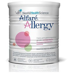 Смесь Alfare (Nestl? Health Science) Allergy (с рождения) 450 г