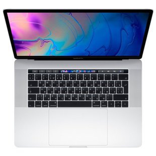 "Ноутбук Apple MacBook Pro 15 with Retina display Mid 2019 (Intel Core i9 2300 MHz/15.4""/2880x1800/16GB/512GB SSD/DVD нет/AMD Radeon Pro 560X/Wi-Fi/Bluetooth/macOS) (MV932RU/A) (серебристый)"