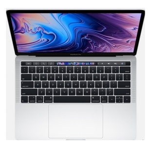 "Apple MacBook Pro 13 with Touch Bar (Intel Core i7 1700 MHz/13.3""/2560x1600/16GB/512Gb SSD/DVD нет/Intel Iris Plus Graphics 645/Wi-Fi/Bluetooth/macOS) (Z0W7000FH) (серебристый)"