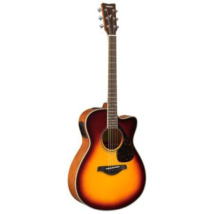 Гитара электроакустическая YAMAHA FSX820C Brown Sunburst