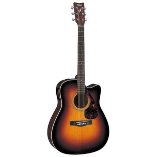 Гитара электроакустическая YAMAHA FX370C Tabacco Brown Sunburst