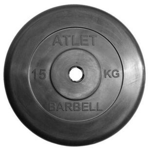 Диск MB Barbell MB-AtletB31 15 кг