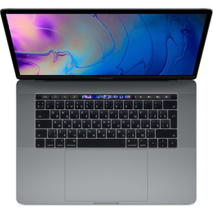 "Apple MacBook Pro 15 with Retina display and Touch Bar 2019 (Intel Core i9 2300 MHz/15.4""/2880x1800/32GB/512Gb SSD/DVD нет/Radeon Pro 560X 4Gb/Wi-Fi/Bluetooth/macOS) (Z0WW0006V) (серый космос)"