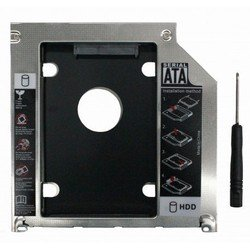 Optibay miniSATA - SATA 9.5mm Second HDD Caddy (Macbook) (PX/OPTIBAY 9.5 SATA MB)
